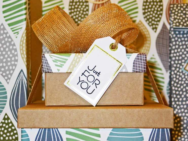 Birthday Bow Box
